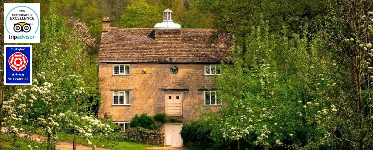 Cottages Slider Grist Mill | Owlpen Manor Cotswold Cottages | Self-catering Holiday Cottages in the Cotswold